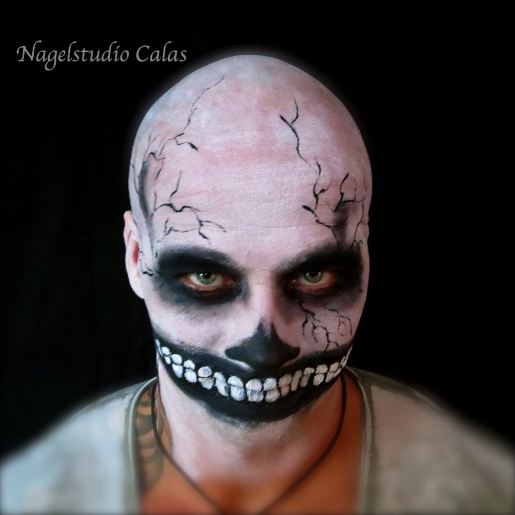 Halloweenschminken